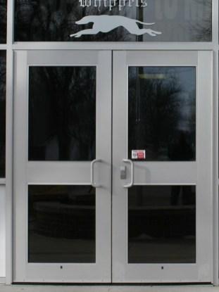 Glass work done by Tri-County Glass Inc. | Minden High School - Minden , NE