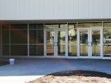 Glass work done by Tri-County Glass Inc. | University of NE Curtis Vet Tech Building