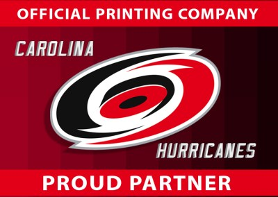 TCG Legacy Official Printing Company for the Carolina Hurricanes and Corporate Partnership