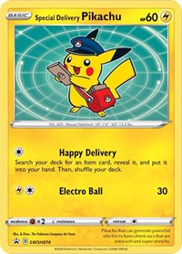 Special Delivery Pikachu - SWSH074