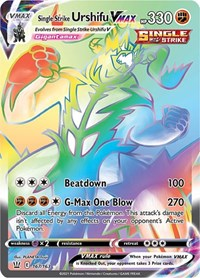 Single Strike Urshifu VMAX (167/163)