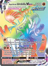 Rapid Strike Urshifu VMAX (169/163)