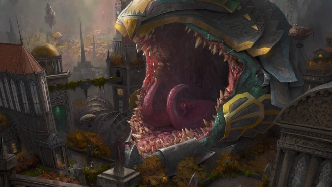 Image result for impervious greatwurm art