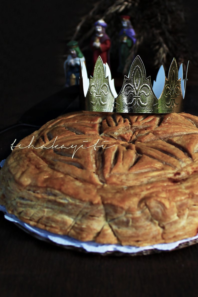 Galette des Rois Frangipane, a tradition in many Haitian families to celebrate Epiphany | tchakayiti.com