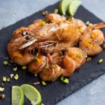 This fried shrimp recipe is an attempt to replicate the ones I grew up eating from a street merchant in Haiti. They were a pure delight.   tchakayiti.com