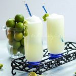 What makes this limeade special? it is blended with the whole fruit! Makes for one delicious drink. | tchakayiti.com