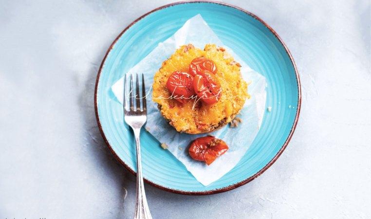 Maïs à la bonne femme, a cheesy polenta casserole, the perfect one-pot dinner. | tchakayiti.com