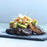 This grilled pineapple avocado salad is packed with wonderful flavors that will awaken your senses. | tchakayiti.com