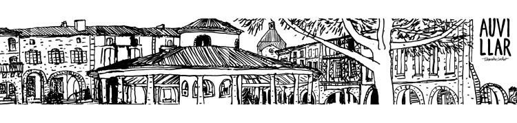 Carte panoramique Auvillar