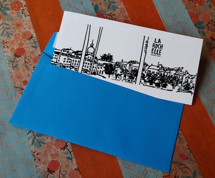 Carte postale createur La Rochelle