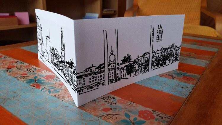 Carte panoramique La Rochelle