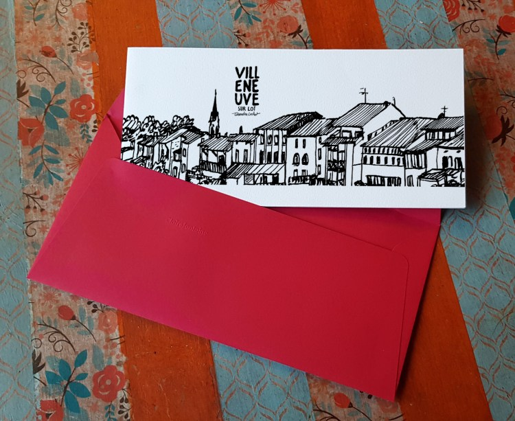 Carte postale createur Villeneuve-sur-Lot