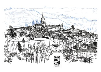 Affiche Saint-Antoine l'Abbaye