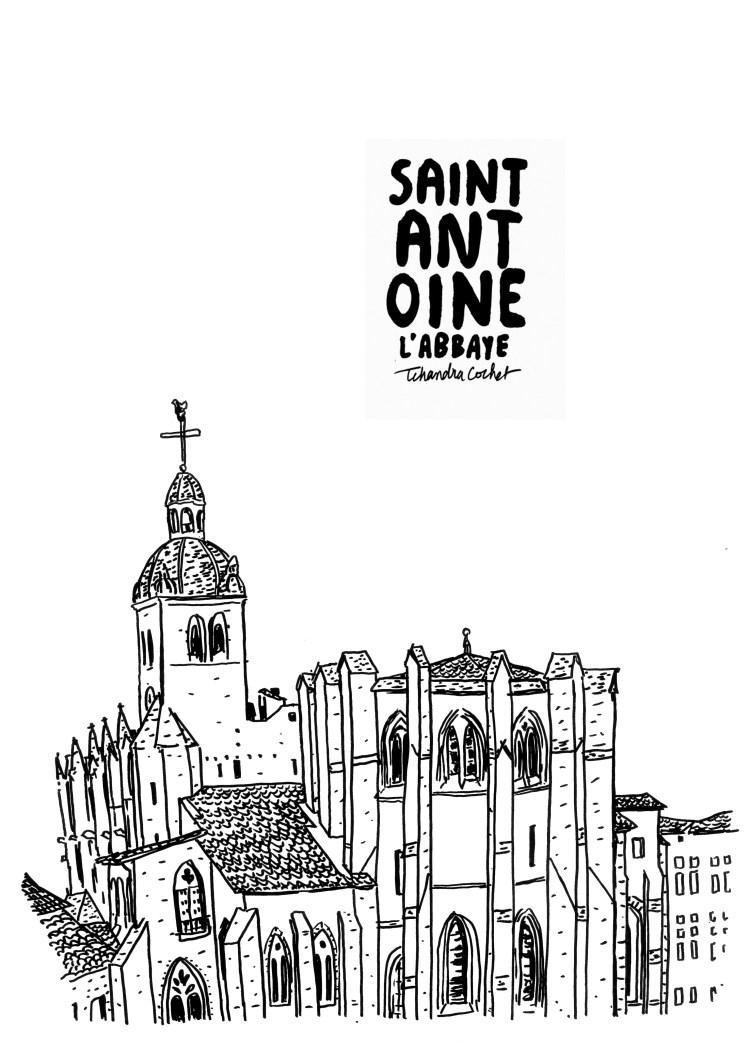 Affiche Abbaye de Saint-Antoine