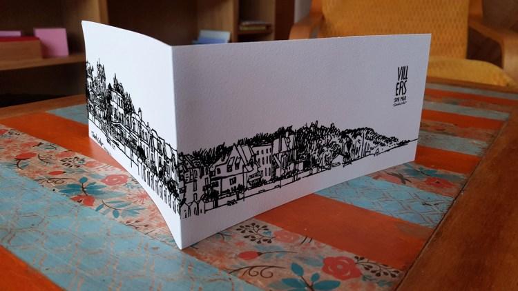 Carte panoramique Villers-sur-Mer