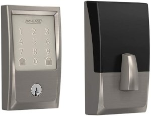 Schlage Encode Smart WiFi Deadbolt - Best Rated Deadbolt Locks for Entry Door