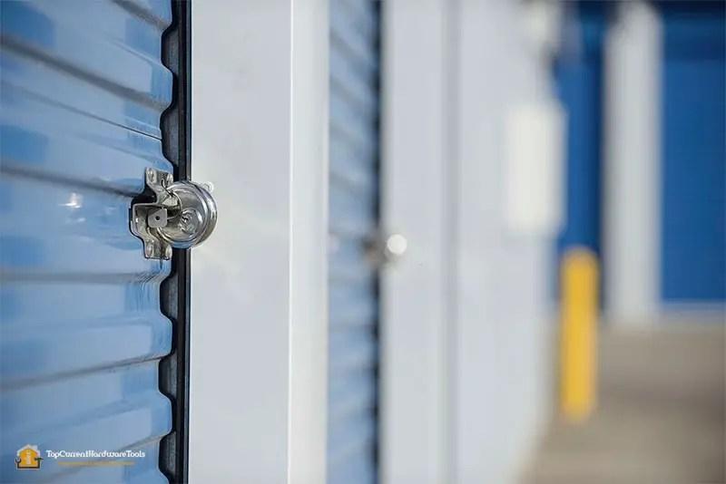 best high security padlock on a storage locker