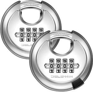 best combination padlock for storage unit