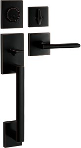 best outside door handles with Deadbolt Lock Set