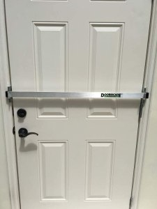 Best Door security bar on door