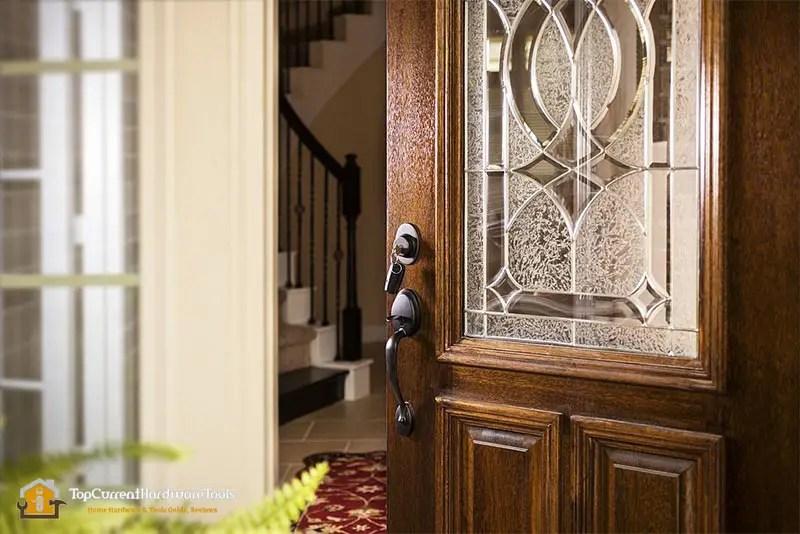 Best wooden security front door