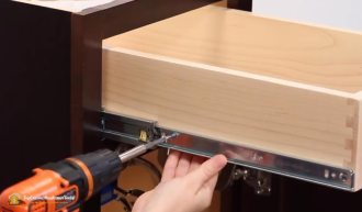 Know How to Install Side Mount Drawer Slides