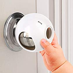 Door Knob Safety Cover for Kids - Soft Door Knob Protector Cover