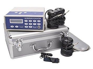 Générateur galvano-électrolytique ionisant pour bains de pieds