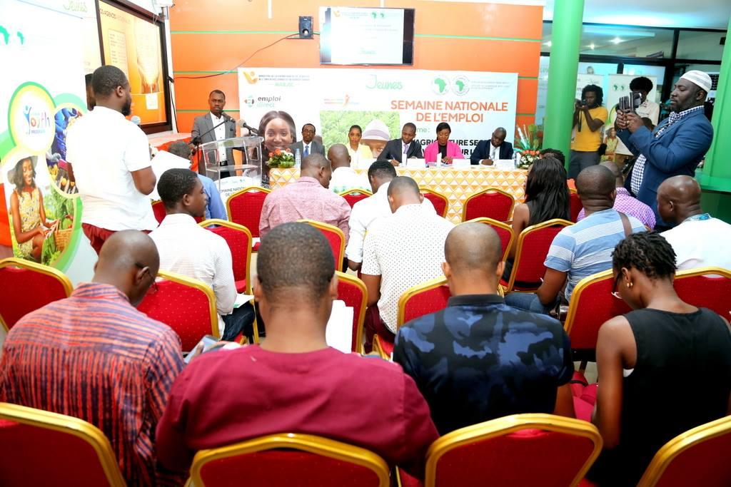 Conférence de presse du lancement de la semaine nationale de l'emploi