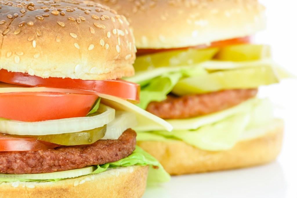 Hanburger légumes