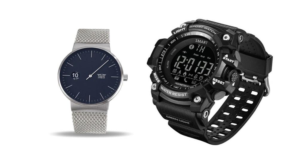 Accessoires indispensables pour l'homme : la montre