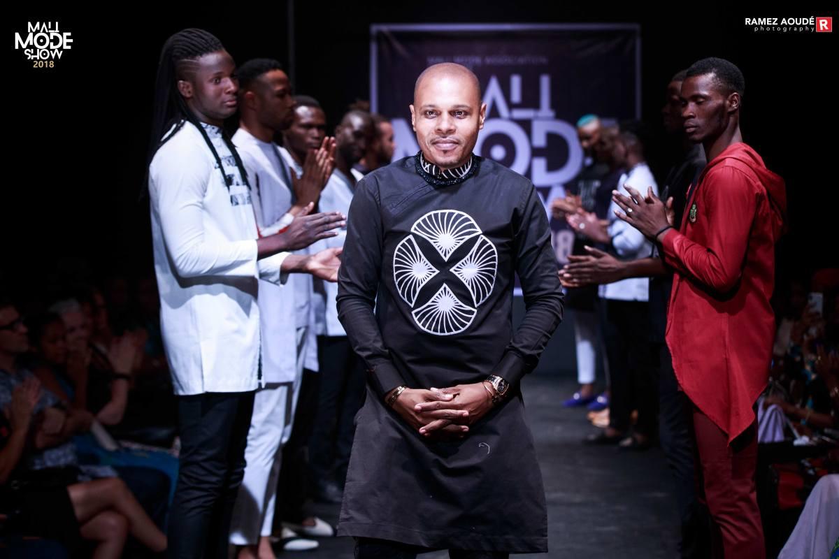 Adji Diallo de ADJI STYL lors du Mali Mode Show