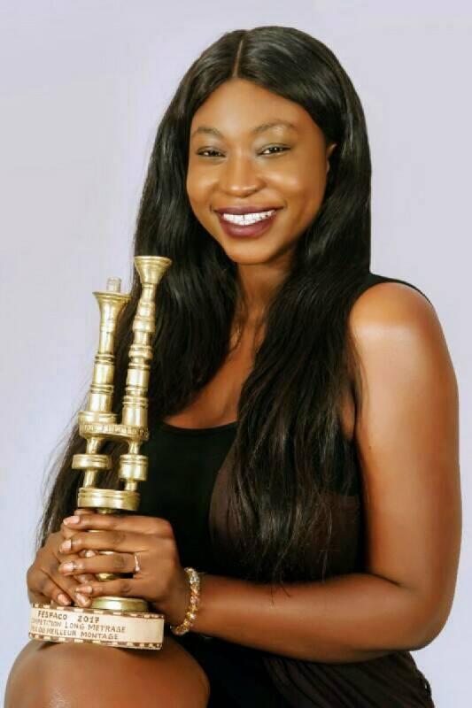 Kadhy Touré, réalisatrice de l'interprète, Fespaco