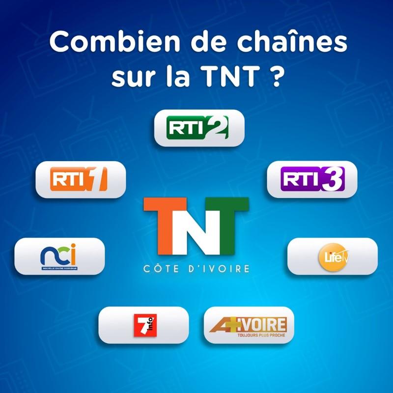 la TNT  en Cote d'Ivoire