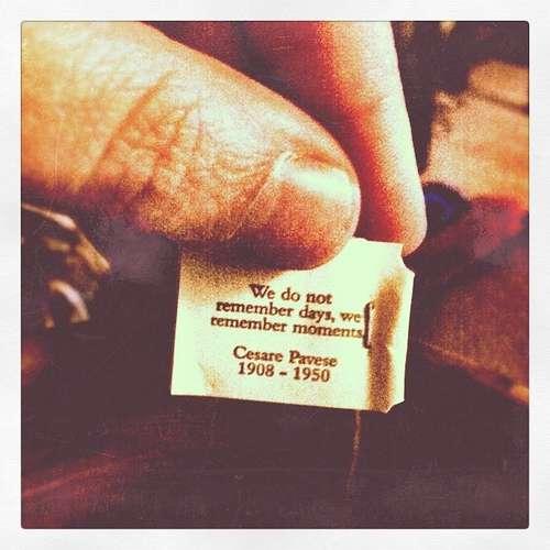 Good Earth Tea's tea tag quote contest