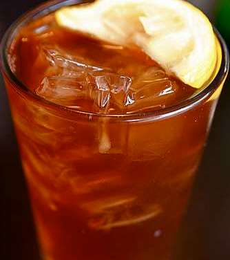 Enjoy sugar-free iced tea this summer