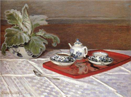 Depictions of tea in art