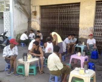 Teatime in Burma