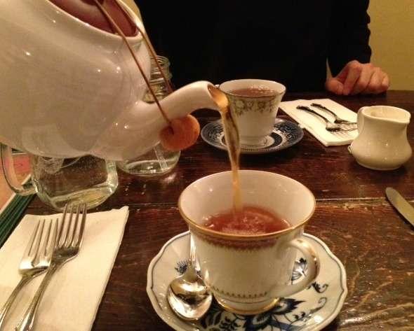 A tale of three tea shops