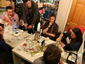 tea-gathering