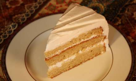 T squared cake – A tea cake with tea in it