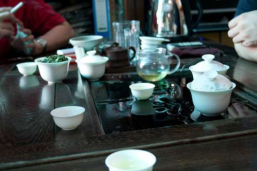 Drinking Tea with Jane Pettigrew