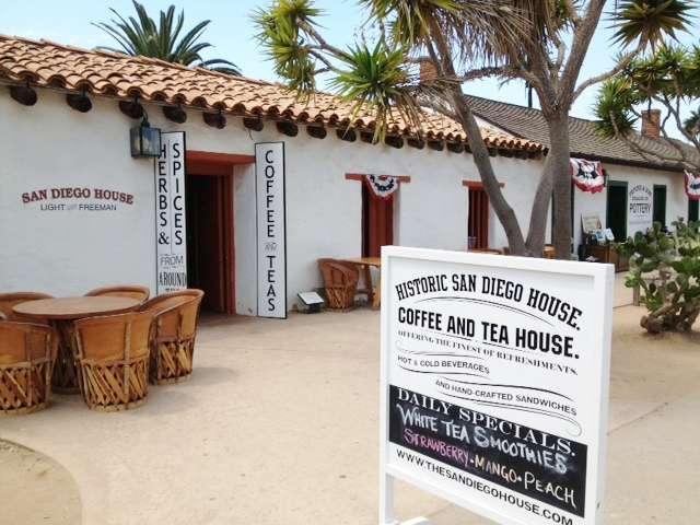 Historic house of tea