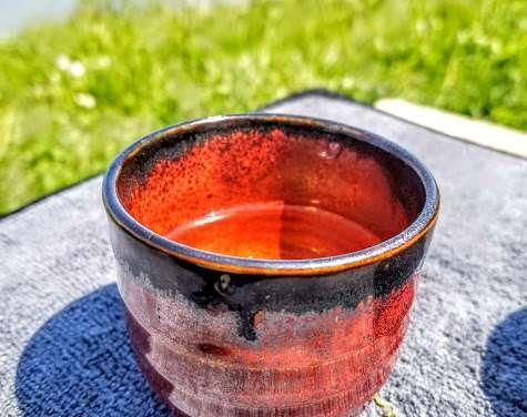 Enjoying Tea Outdoors