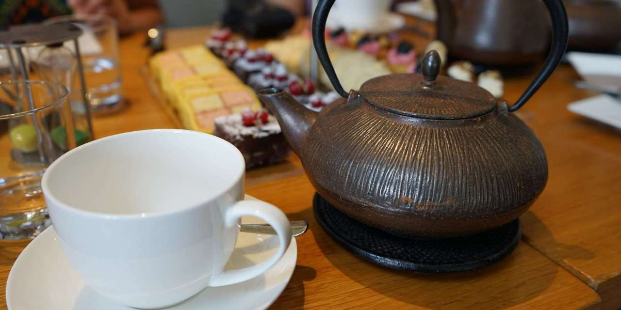 Shaking up the tea and food equation