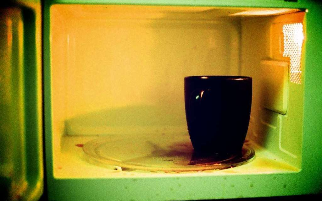 Would you microwave your tea?
