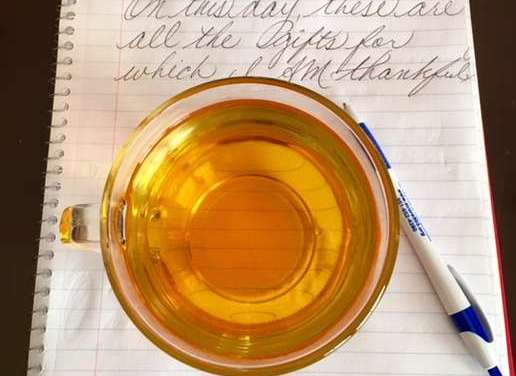 Blast From the Past: Thankful Thoughts From First to the Last Sip of Tea