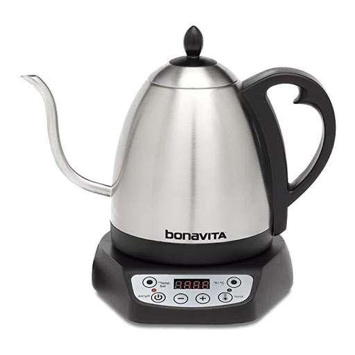 Bonavita BV 382510V 1.0 Liter Digital Variable Temperature Gooseneck Kettle