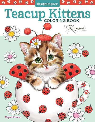 #10 Teacup Kittens Coloring Book –