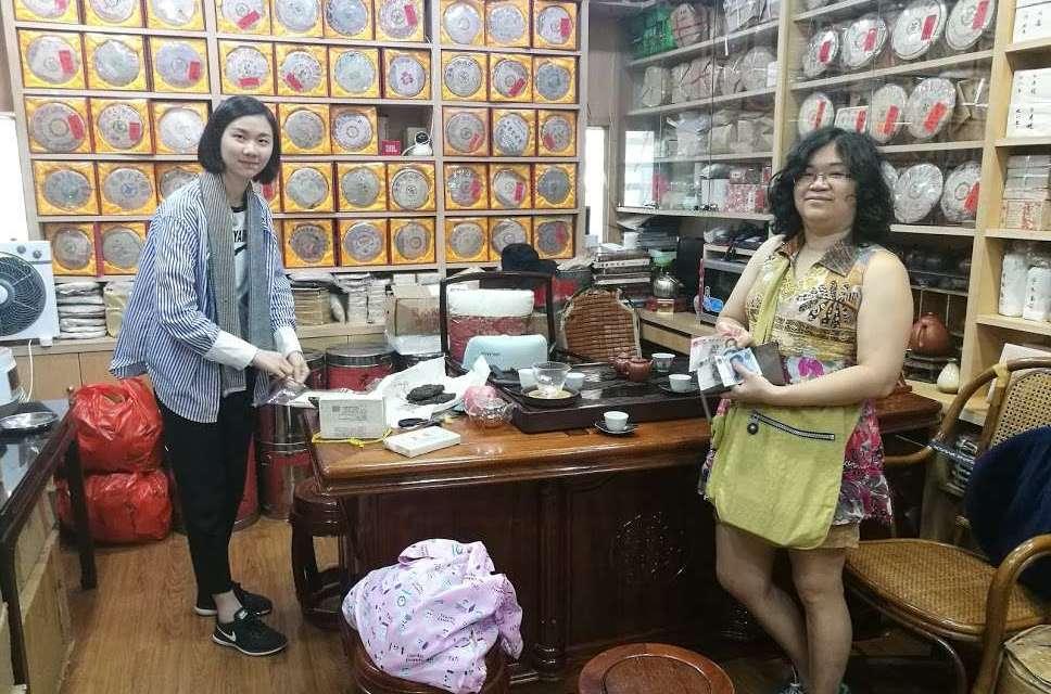 Tea Shopping in a Market in Shenzhen, China – Part 3